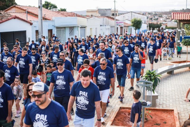 CAMINHADA EM HOMENAGEM AO DIA DOS PAIS 2019