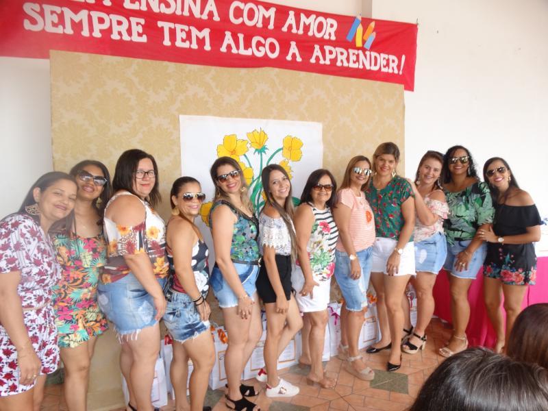 FESTA EM HOMENAGEM AO DIA DO PROFESSOR - FOI TOP!
