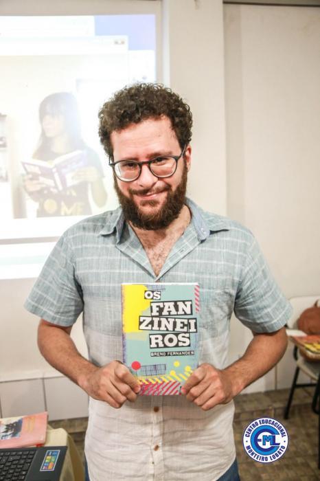 O CEML recebe o escritor Breno Fernandes
