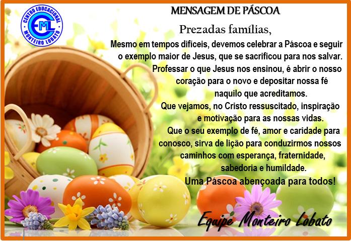 O CEML deseja uma abençoada Páscoa para todos!